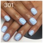 ג'ל לק 301 blue baby