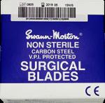 סכיני סקלפל סוואן מורטון -100 יחידות בחבילה