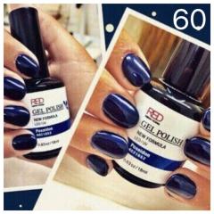 ג'ל לק 60 deep blue