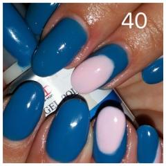 לק ג׳ל 40 curious blue