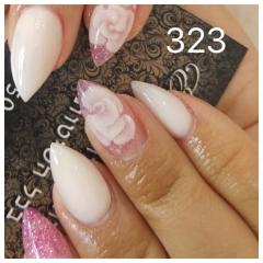 ג'ל לק 323 peach