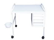 שולחן לבניית ציפורניים 4 מגירות