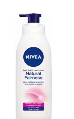 תחליב גוף 'נטורל פירנס' לשמירה על העור לעור יבש משאבה 400ml