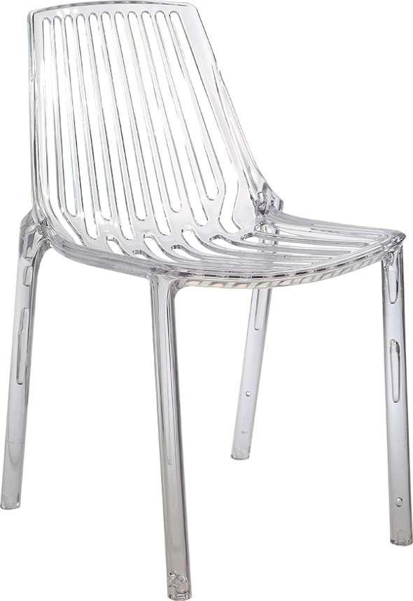כסא שקוף לפינת אוכל 9788