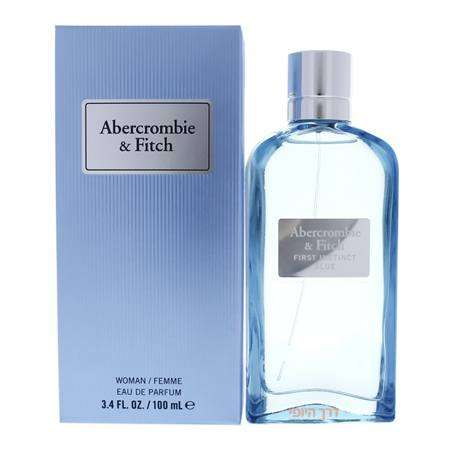 "Abercrombie & Fitch אברקומבי אינסטינקט בלו לאישה 100 מ""ל א.ד.פ -  -  מ""ל"