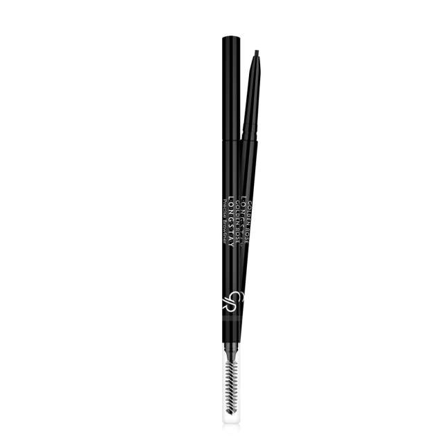 """עפרון גבות גרמני ללא חידוד+מברשת  -  -  מ""""ל"""