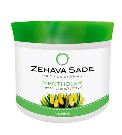MENTHOLEX 250ML-קרם רגליים טיפולי לרגליים סדוקות ויבשות