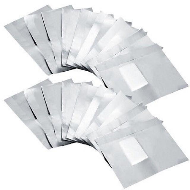 נייר כסף עם גזה להוצאת ג׳ל