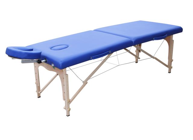 מיטת טיפולים לעיסוי מעץ