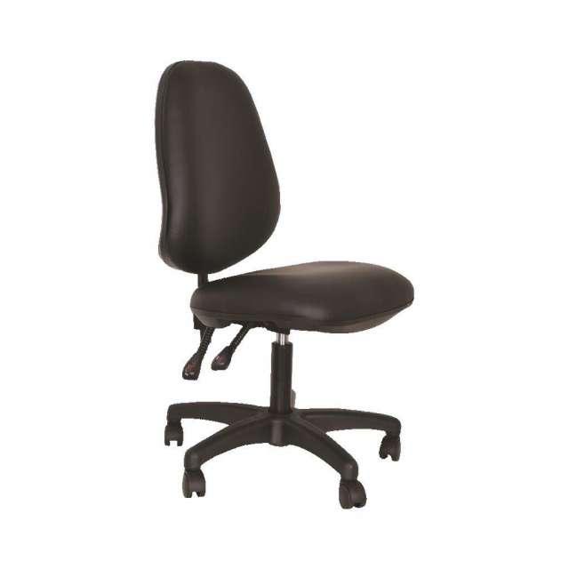 כסא פנאומטי  לקוסמטיקאית משענת גבוהה