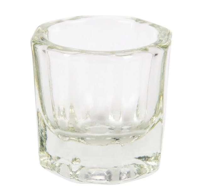 כוסית זכוכית לערבוב צבע גבות