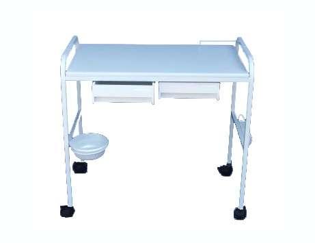 שולחן לבנית ציפורניים 2 מגירות