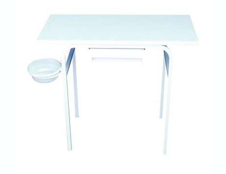 שולחן לבניית ציפורניים 1 מגירה