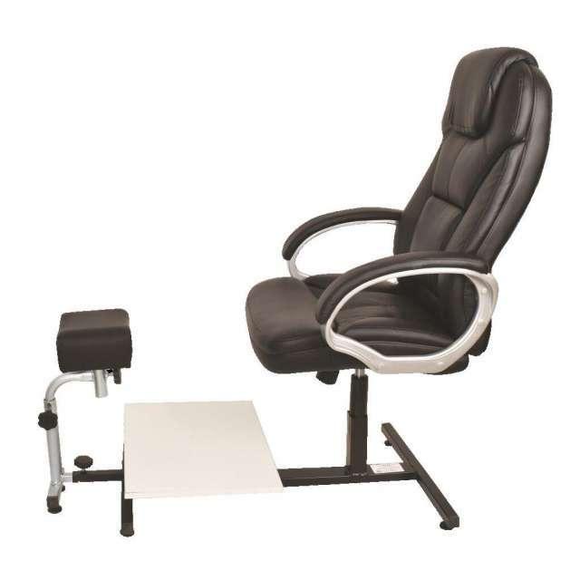כסא לפדיקור מפואר בשילוב רגלית