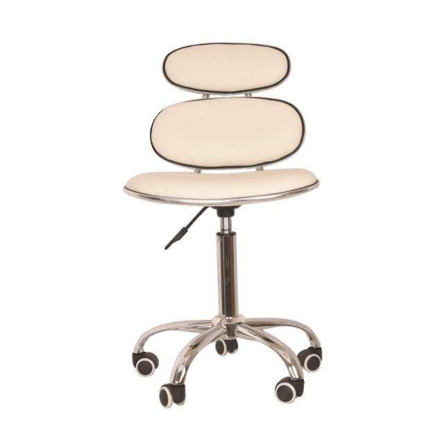כסא קוסמטיקאית משענת כפולה
