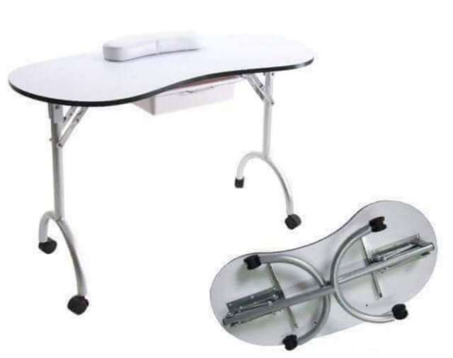 שולחן מתקפל לבניית ציפורניים