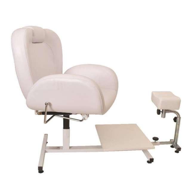 כסא לפדיקור משולב רגלית