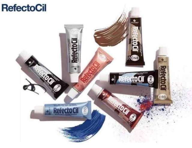 צבע לגבות ,ריסים וזקן  - רפלקסיטול- refectocil