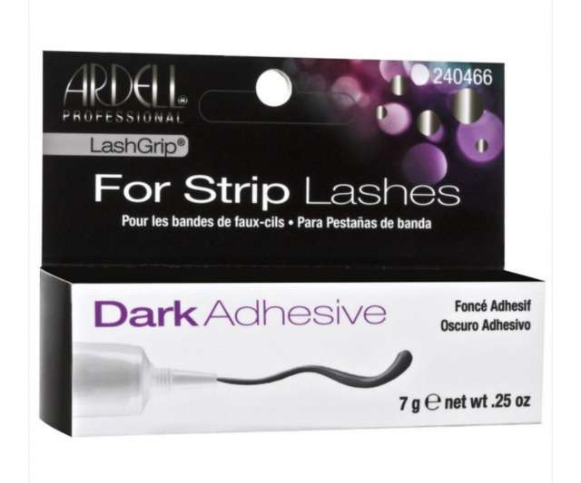 דבק ריסים להדבקת ריסים שלמות בצבע שחור- חברת ארדל