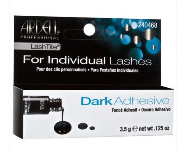 דבק לריסים להדבקת ריסים בודדות בצבע שחור -חברת ארדל