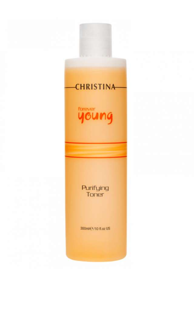 מי פנים מטהרים -כריסטינה -פוראבר יאנג               FOREVER YOUNG PURIFYING TONERS 300ml