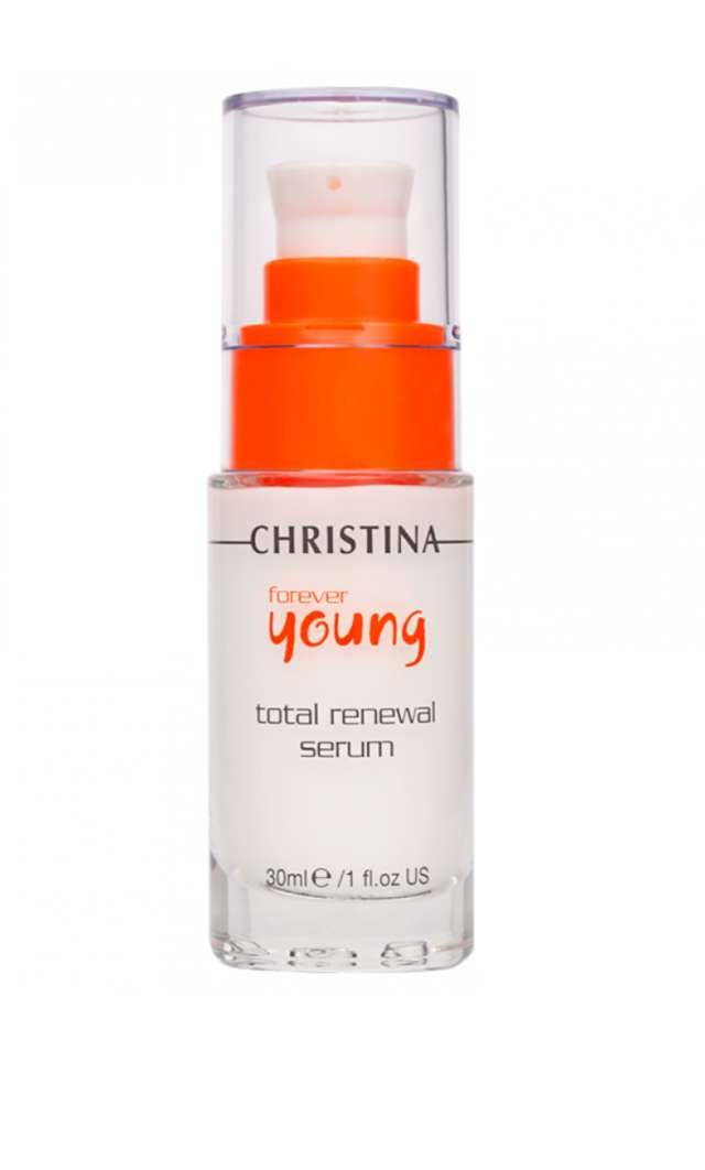 סרום לשיקום והתחדשות עור הפנים -כריסטינה -פוראבר יאנג.     FOREVER YOUNG TOTAL RENEWAL SERUM-30ml