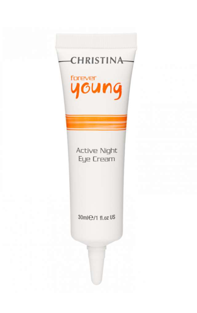 קרם לילה טיפולי להפחת קמטי עיניים FOREVER YOUNG ACTIVE NIGHT EYE CREAM-30ml