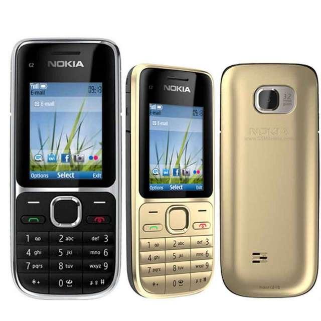 מכשיר מקשים נוקיה C2 עם / בלי מצלמה ונגן דגם 722 NOKIA C2