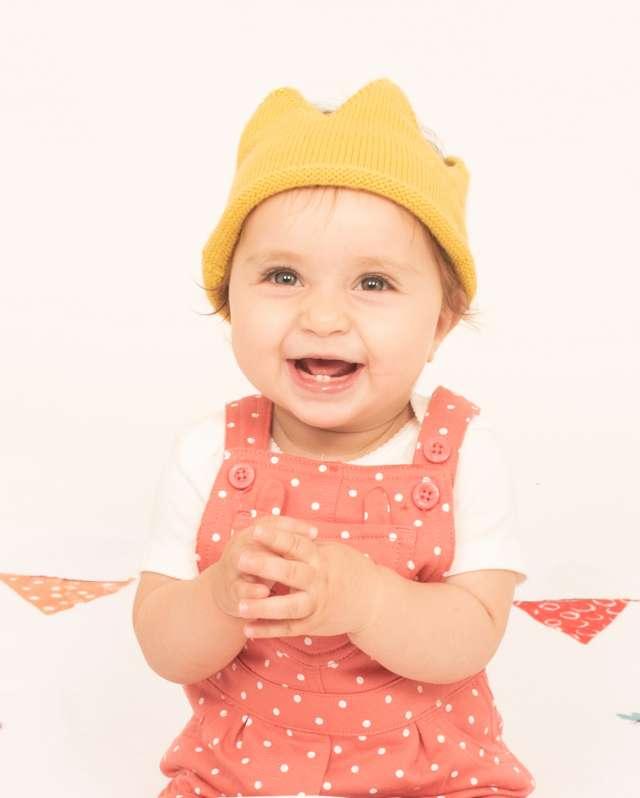 כובע כתר לתינוק/ת