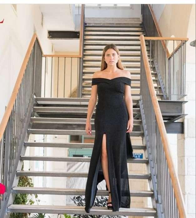 שמלת ריטה עם פתחים