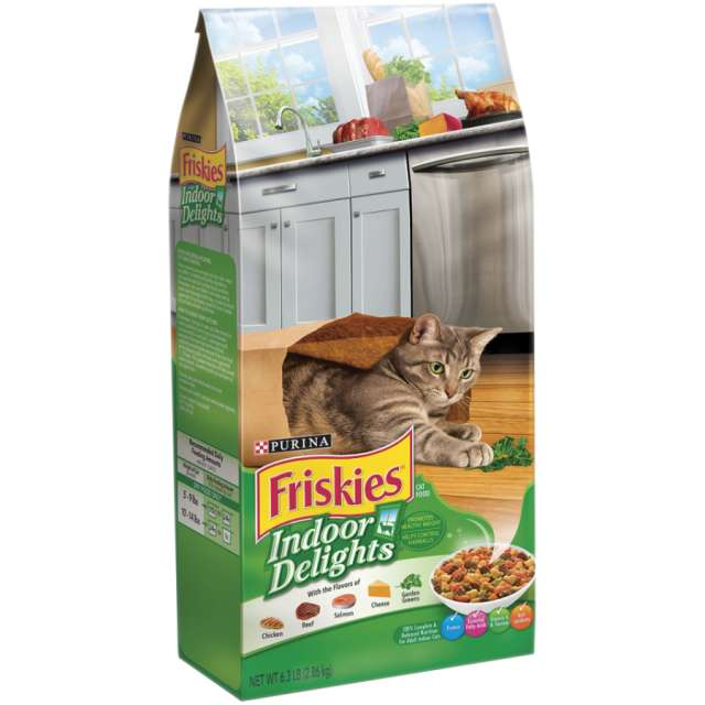 Friskies-פריסקיז מעדני הבית לחתול ירוק 2.86 ק''ג
