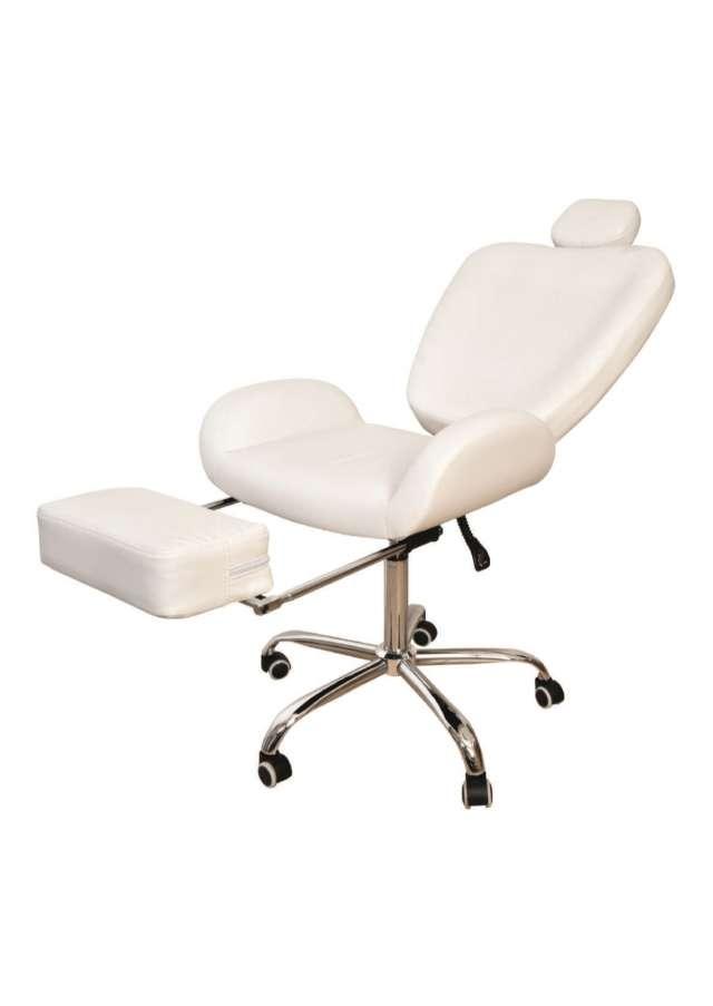 כסא לעיצוב גבות/איפור /פדיקור  עם ריקליינר נפתח