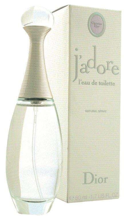 """הבושם j'adore מבית Dior המכיל 100 מ""""ל"""