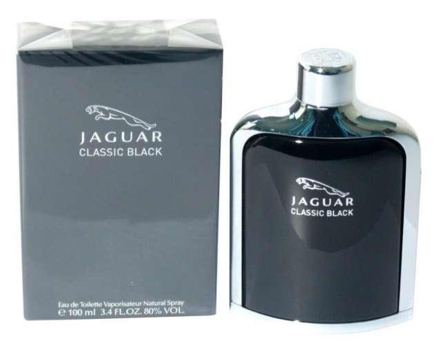 הבושם CLASSIC BLACK של JAGUAR