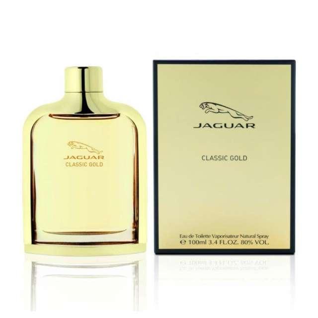 הבושם Classic Gold של Jaguar