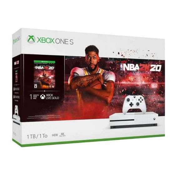 קונסולה Xbox One S 1TB Microsoft עם משחק NBA2K