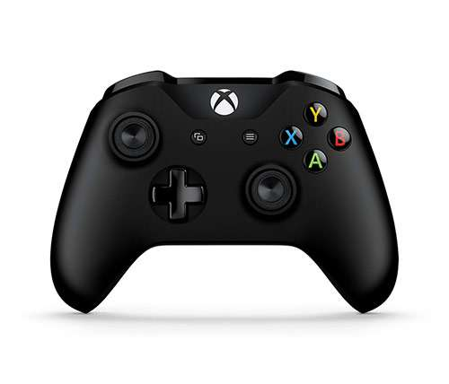 בקר אלחוטי Xbox Wireless Controller - Black לקונסולת XBOX ONE / PC בצבע שחור