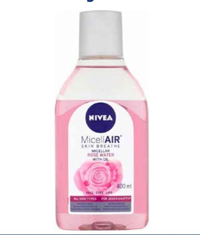 מי ורדים MicellAIR עם שמן  מסיר איפור 400ml