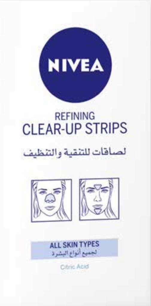 רצועות ניקוי פנים להוצאת שחורים  6 יחידות