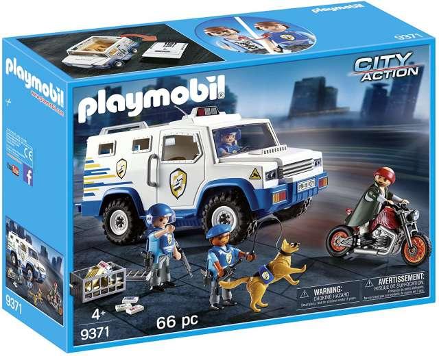 פליימוביל רכב משטרתי להעברת כספים 9371