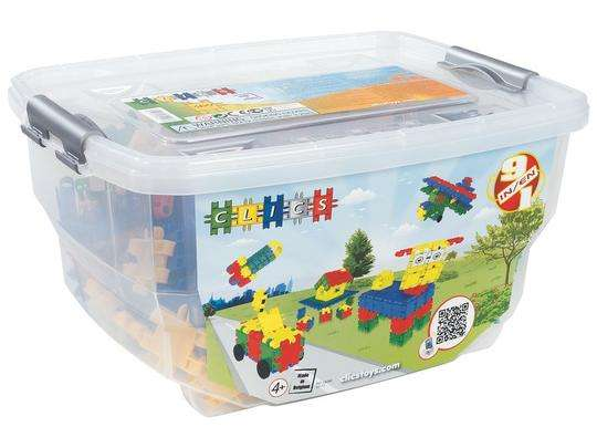 קליקס מקורי 320 חלקים בקופסת פלסטיק