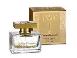 """הבושם Golden Elements מבית JIVAGO המכיל 100 מ""""ל"""